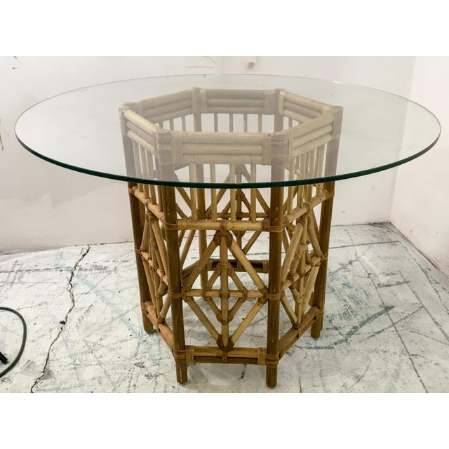 Rattan Consoles or Center Table - A Pair - Image 2 of 5