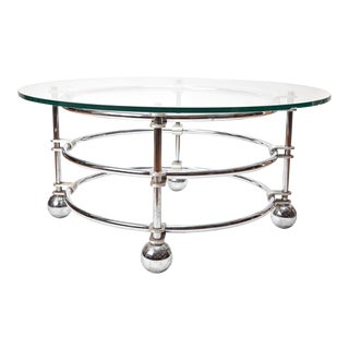 Jay Spectre Round Coffee Table For Sale