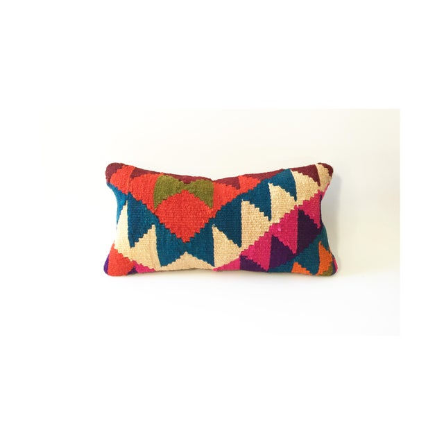 Vintage Kilim Lumbar Pillow - Image 2 of 5
