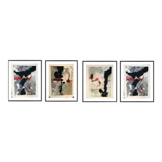Storm 1,2,3,4 Paintings - Set of 4 For Sale