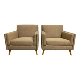 1950s Vintage Lounge Chairs - a Pair For Sale