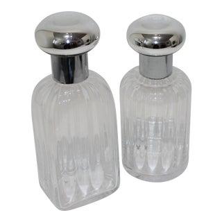 Murano Vetri Decanters - Set of 2 For Sale