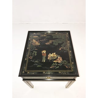 Drexel Heritage Chinoiserie Chippendale Side Table Preview