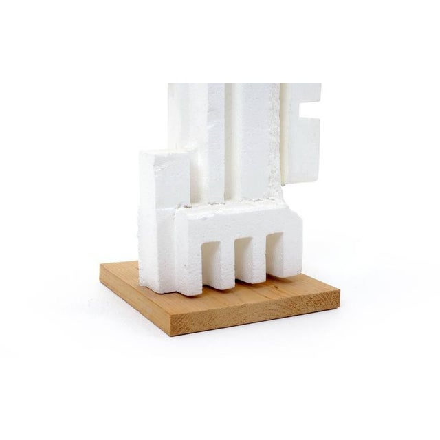 Irving Harper Sculpture of Styrofoam from His Paper Sculpture Series For Sale - Image 9 of 9