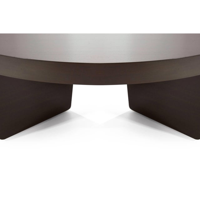 Mahogany Harvey Probber Nucleus Coffee Table, 1952 For Sale - Image 9 of 10