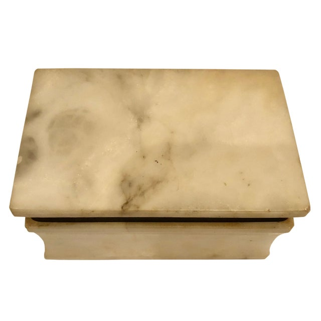 1940s Italian Marble Box For Sale - Image 4 of 8