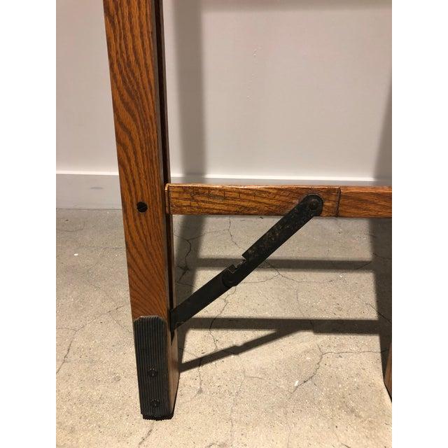 Oak Stick Ladder For Sale - Image 4 of 7