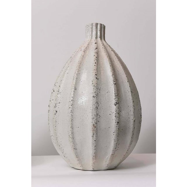 Set of Three Italian Modern Earthenware Vases, Style of Primavera For Sale - Image 4 of 9