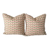 Image of Scalamandre Silk Pillows - A Pair For Sale