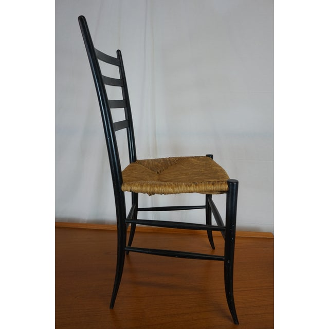 Italian Style Ladderback Chairs - A Pair - Image 6 of 7