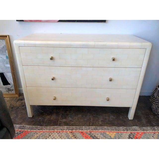Made Goods Yaren Ivory Faux Horn Dresser For Sale - Image 12 of 12