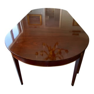 Kindel Winterthur Collection Mahogany Dining Table For Sale