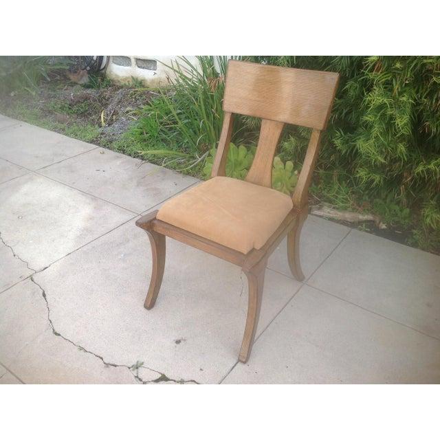 Sensational Modern Klismos Style Chair Unemploymentrelief Wooden Chair Designs For Living Room Unemploymentrelieforg