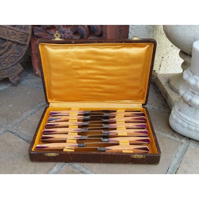 Art Deco French Knife - Set 12 - Image 3 of 6
