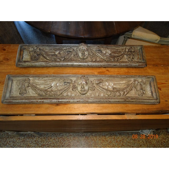 18th Century Italian Panels-A Pair For Sale - Image 13 of 13