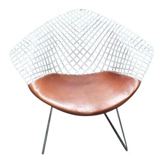 Mid Century Modern Knoll Diamond Chair For Sale