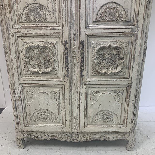 Early 19th Century Antique French Armoire For Sale - Image 4 of 11