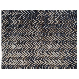 Stark Studio Rugs Contemporary New Oriental Tibetan Wool Rug - 8′ × 10′3″ For Sale