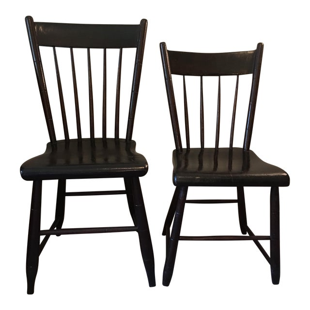 Craftsman Made Side Chairs C. 1840s For Sale
