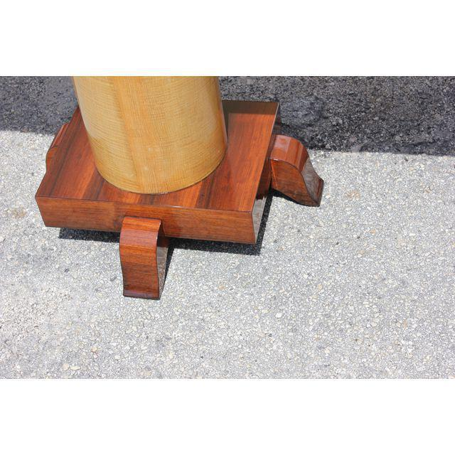 1940s French Art Deco Palisander / Sycamore Long Console Tables - a Pair For Sale In Miami - Image 6 of 10