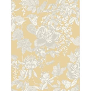Cole & Son Tivoli Wallpaper Roll - Yellow For Sale