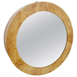 Mid-Century Infinity Lights Wall Mirror For Sale