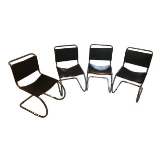 Mies Van Der Roh Mr10 Chairs - Set of 4 For Sale