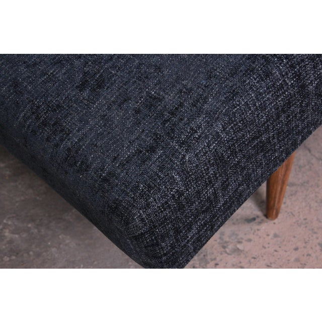 Fabric Adrian Pearsall for Craft Associates Mid-Century Modern Wave Chaise Lounge For Sale - Image 7 of 8
