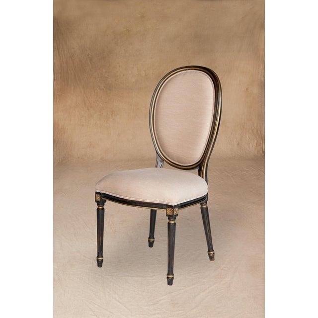 Vintage Sarreid LTD Louis XVI Style Side Chair - Image 2 of 5