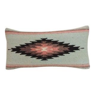 Vintage Southwestern Style Woven Bolster Decorative Pillow