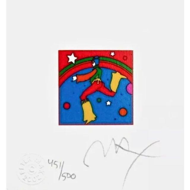 Peter Max Cosmic Jumper, Detail III 2002 For Sale