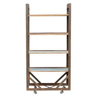 Industrial Iron Frame Bookcase
