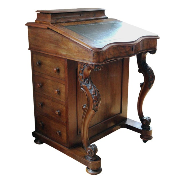 Victorian Davenport Writing Desk - Image 1 of 11