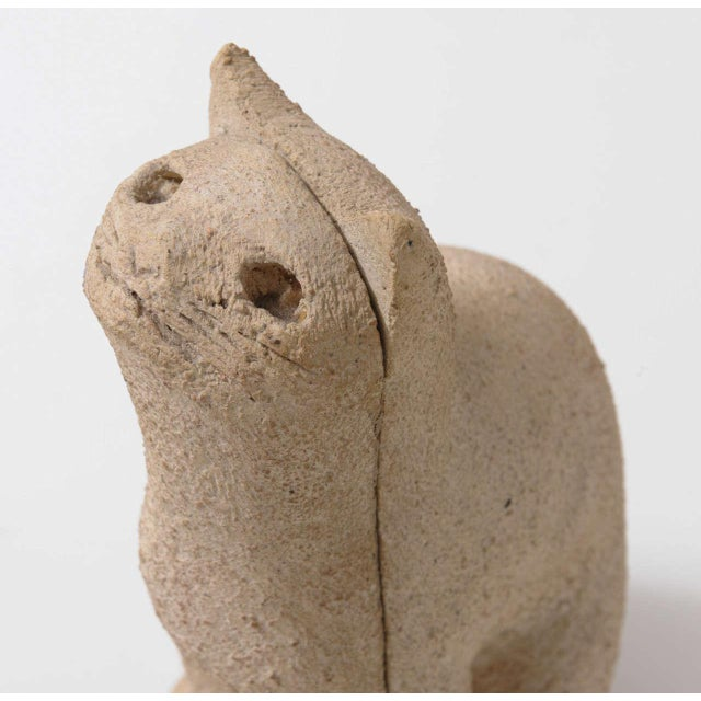 """Mid-Century Modern Cat Sculpture """"Secrets of the 1970s"""" For Sale - Image 3 of 7"""