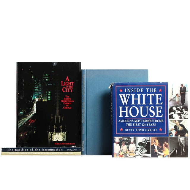 American Buildings & Architecture Books - Set of 5 - Image 1 of 2
