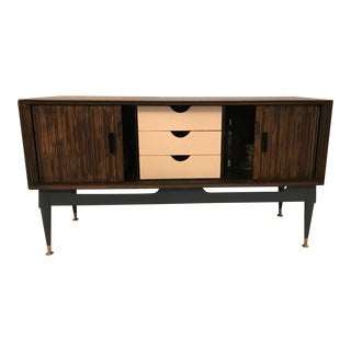 1960s Mid-Century Modern Brandt Furniture Character Mahogany Credenza For Sale