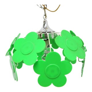 Mid-Century Pop Art Flower Power Chandelier For Sale