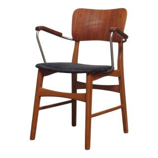 1950s Vintage Danish Ib Kofod Larsen Armchair For Sale