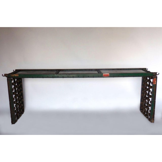 Industrial Metal Steampunk Console For Sale - Image 3 of 10