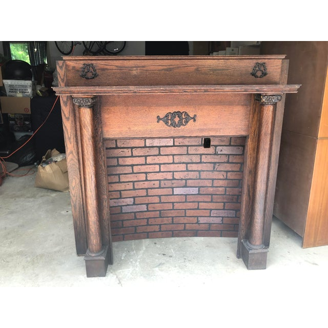 Early 20th Century Fireplace Surround Mantel For Sale - Image 13 of 13