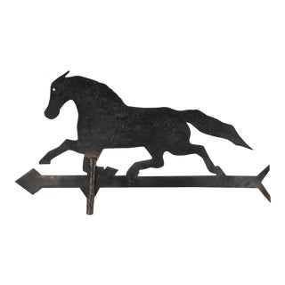 Vintage Iron Horse Weathervane For Sale