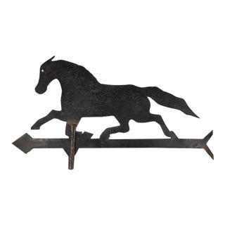 Vintage Iron Horse Weathervane