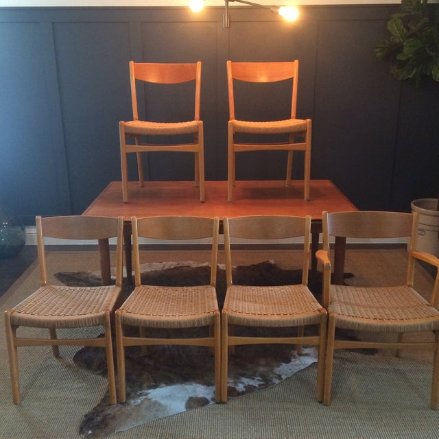Mid-Century Modern Danish Modern Dining Set For Sale - Image 3 of 11