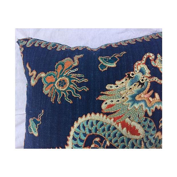 Emperor's Opera Robe Dragon Pillow - Image 3 of 6
