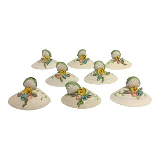 Vintage Shell Place Card Holders - Set of 8 For Sale
