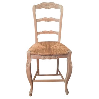 French Country Andre Originals Ladder Back Rush Seat Chair