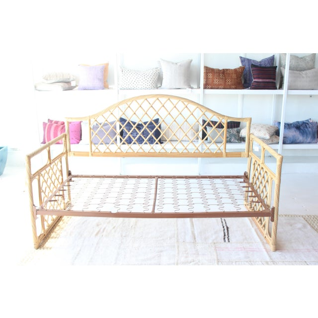 Rattan Daybed Frame For Sale - Image 11 of 11