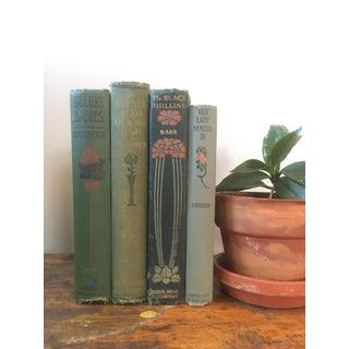 Antique Decorative Floral Books - Set of 4 Preview