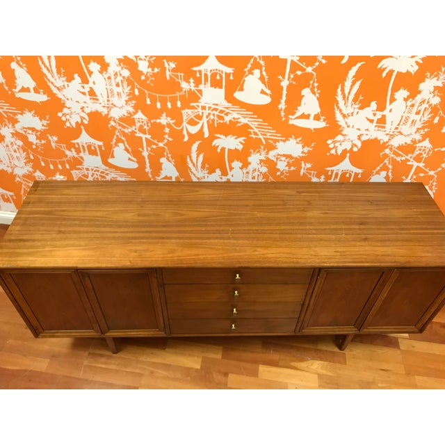 1960's Mid-Century Modern Drexel Declaration Credenza Buffet For Sale - Image 9 of 13