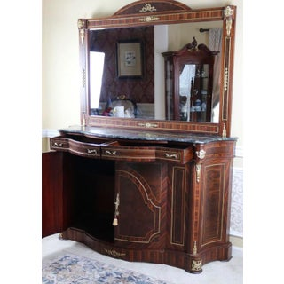 Louis XV Cabinet With Marble Top Preview